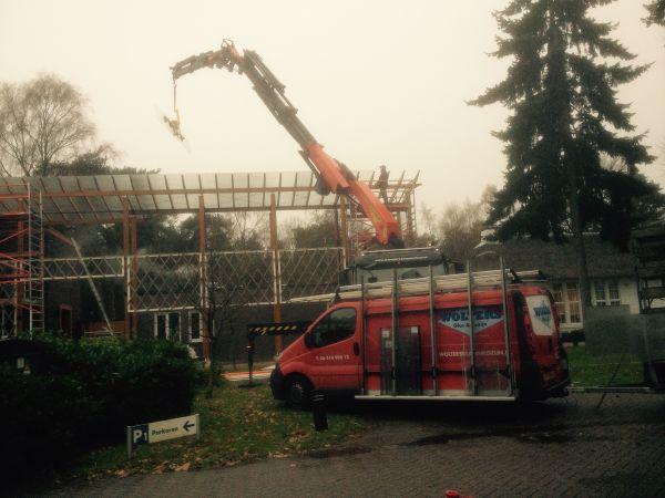 Dakbeglazing vervangen Hotel Leusden